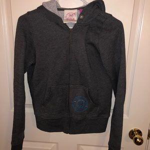 PINK Victoria's Secret front zip hoodie